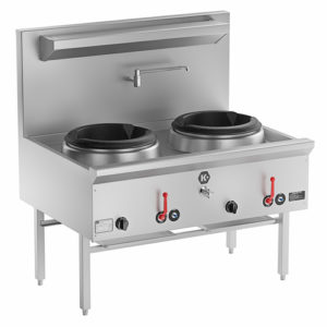 BS Waterless Double Wok Burner