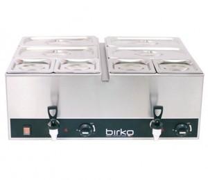 Birko Bain Marie Tap Pan Single With Pans 700ml