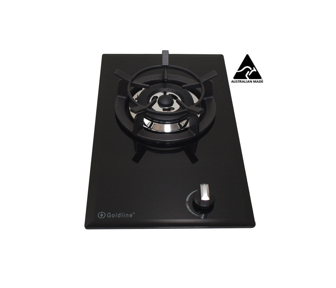 Propane cooktop xtremepowerus deluxe propane gas range for Viking wok burner
