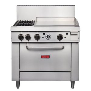 Thor 36in Freestanding Oven Range With Griddle and 2 Burners Natural Gas 1