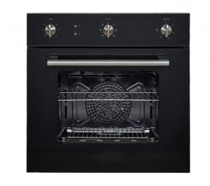 goldenHOOD 60cm Oven Black Tempered Glass