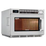 1850 W programmable  microwave