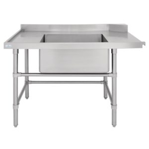 LH Dishwasher Inlet Table with Sink
