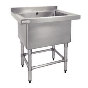 Vogue Stainless Steel Deep Pot Sink