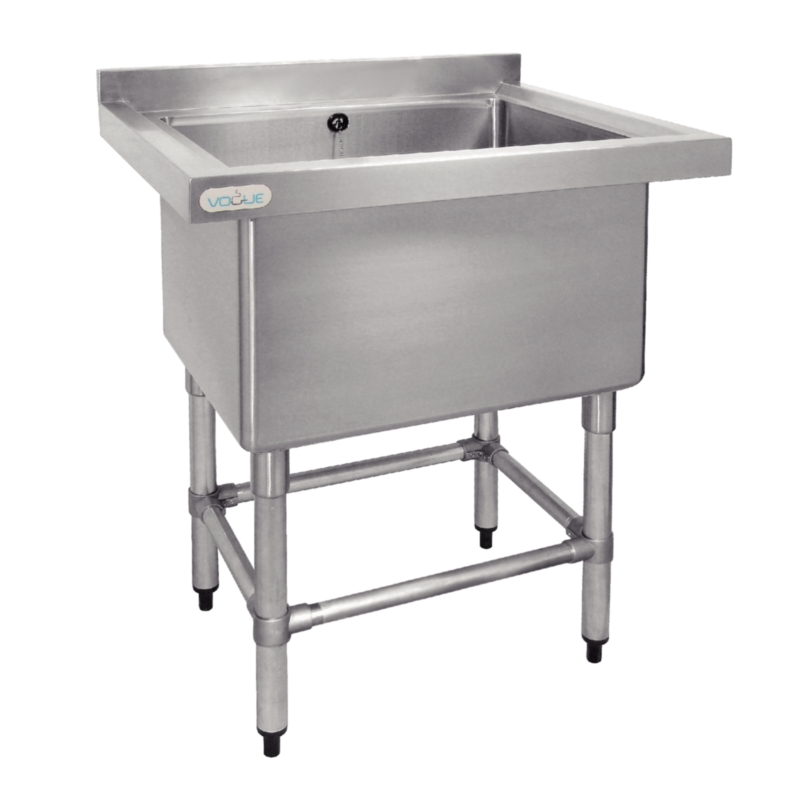 Stainless steel sink washing pot for Pilas de acero inoxidable