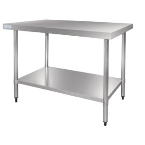 Vogue Stainless Steel Table