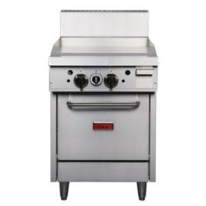 gas oven, griddle, burner