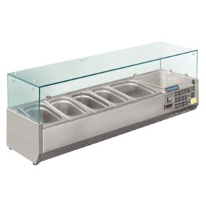 refrigerated servery toppers 3 1.3GN